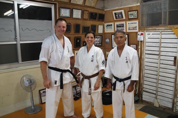 Tur til Okinawa sammen med Martin Frederiksen Sensei