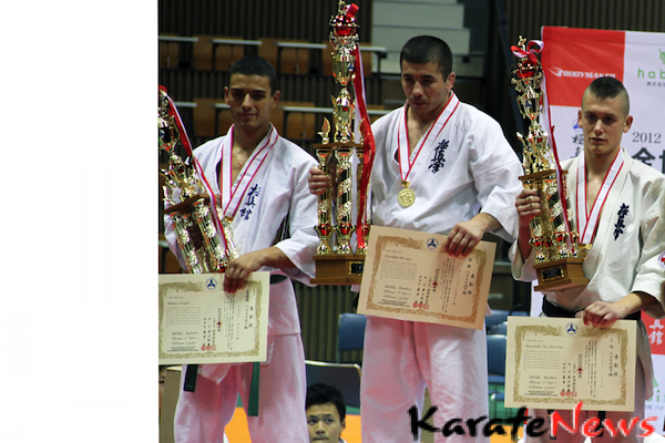 WORLD CHAMPIONSHIPS 2012 – KYOKUSHIN MED BOXING, CHOKE, JOINT LOCK