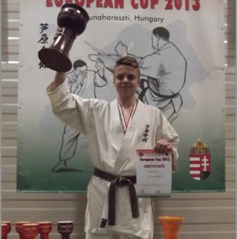 Ashihara Karate EM i Ungarn.