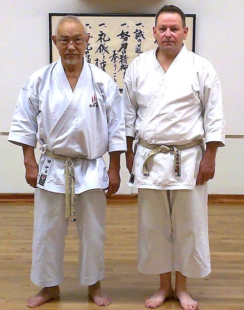 Tanaka sensei og Kjeld Eidnes