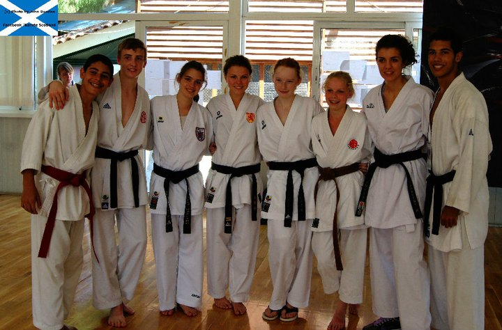 WKF Youth Camp og World Cup i Grækenland