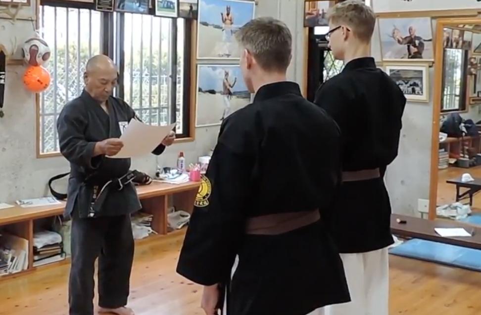 Karate og Kobudo på Okinawa