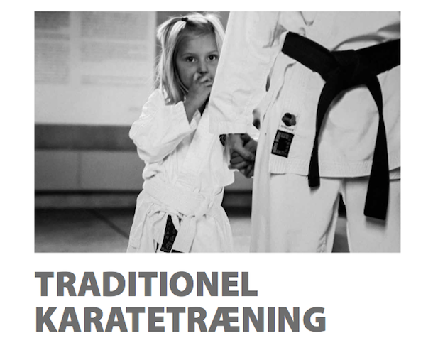 Traditionel karatetræning – ideel aktivitet for børn?