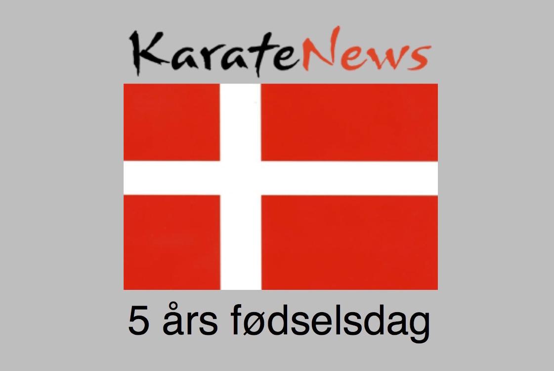 Karatenews fejrer 5 års fødselsdag