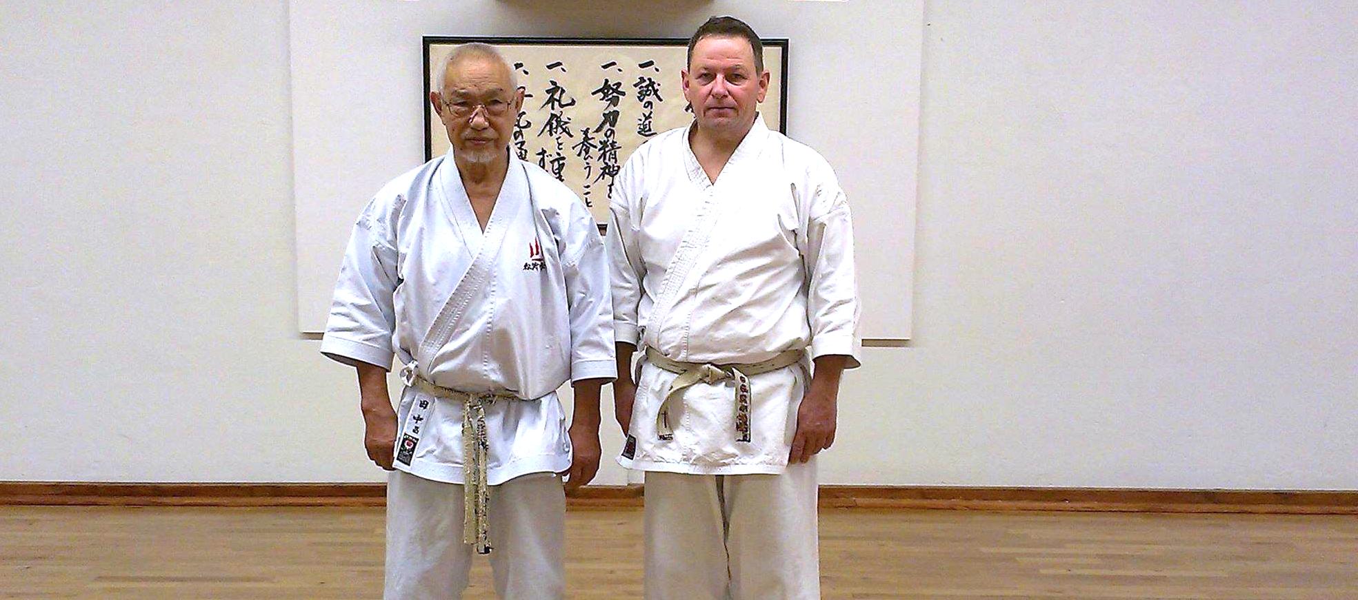 Træning med stormesteren Tanaka Sensei