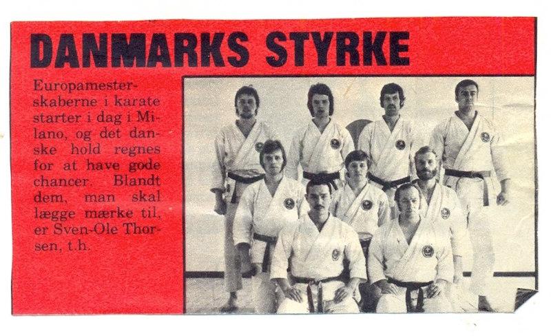 Tanaka sensei udviklede Shotokan Karate i Danmark til et internationalt niveau