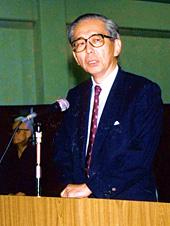 Nakahara Nobuyuki, præsident for JKA siden 1986