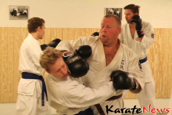 Okinawa Isshinryu Instruktør træning i København.
