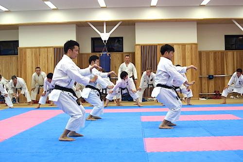Besøg på Teikyo Daigakuin –  et japansk karate universitet