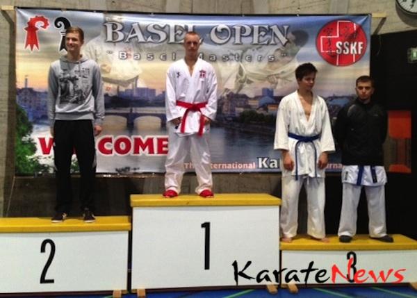 Guld i kumite ved Basel Open