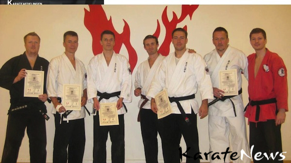 Kyusho Intensiv Program 2012 hos Genten Karate Jutsu