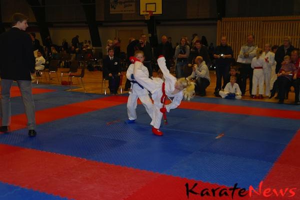 DAI Karate stævne i Ulfborg for begyndere, Søndag den 12/2-2012.
