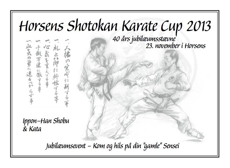 Horsens Shotokan Karate Cup 2013