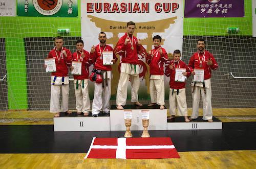 Fra venstre: Bjørn Nellemand Madsen, Oliver Møller Jensen, Mads Eriksen, Oliver Krogstrup, Anders Agergaard, Benjamin Laursen og Kaveh Bahrami.