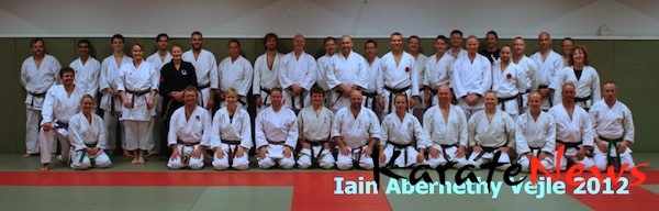 Seminar med Iain Abernethy i Vejle 2012