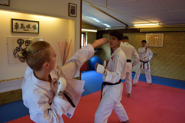 JKA Karatelandsholdet på Bornholm