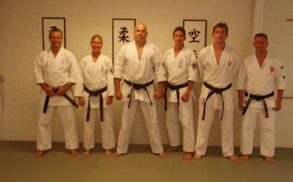 Instruktørtræning i Isshinryu Karate og Kobudokan