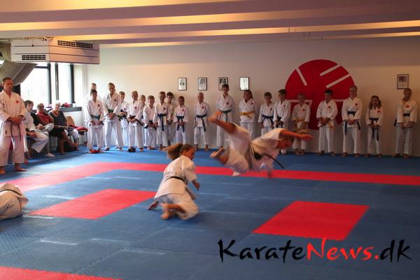 Itosu-Kai Karate Dragør indvidede nye lokaler