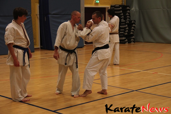 Træningsweekend i Haslev Karate Klub