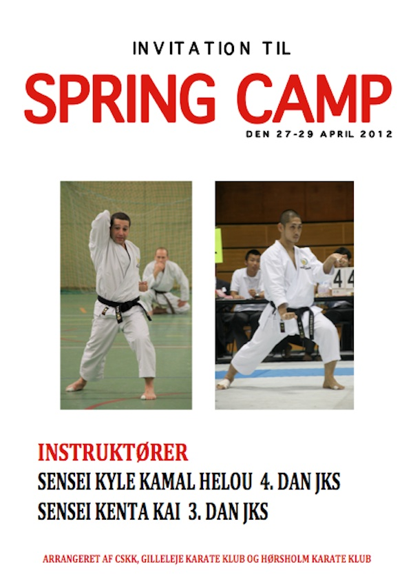 JKS Shotokan Spring Camp 2012