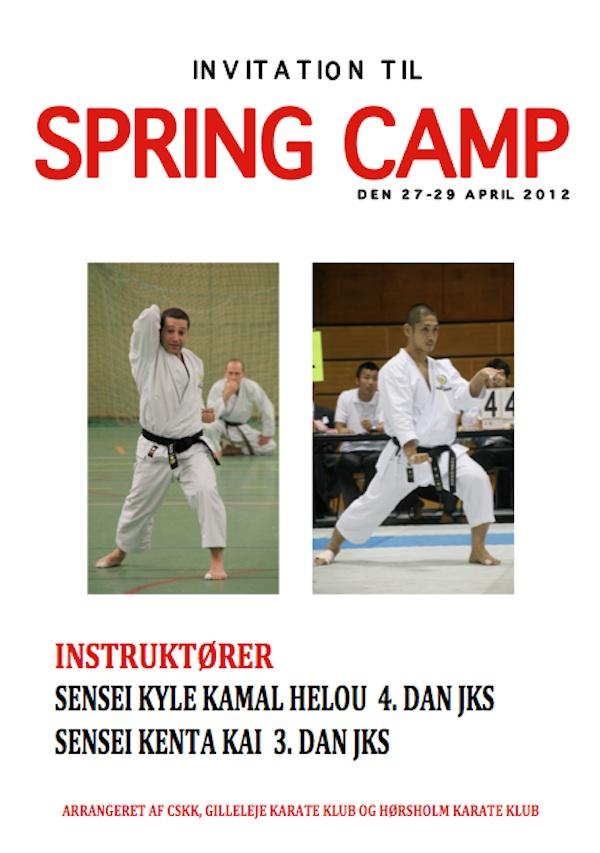JKS Shotokan Spring Camp 2012