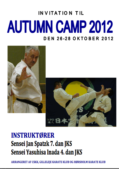 Autumn Camp 2012 JKS Shotokan