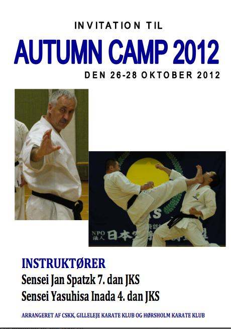 Autumn Camp 2012 JKS Shotokan