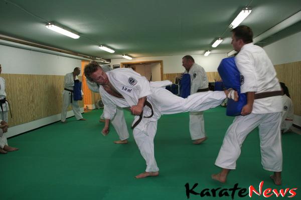 Dangraduering i Okinawa Isshinryu Karate