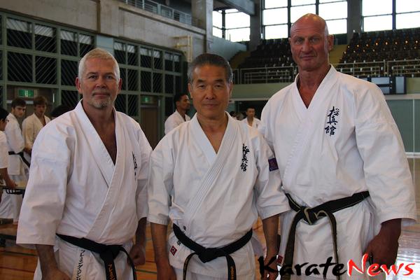 Dansk Kyokushin Shihan på besøg i Japan