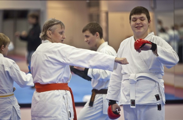 Udviklingshæmmede kan deltage ved Svenske Mesterskaber i Karate