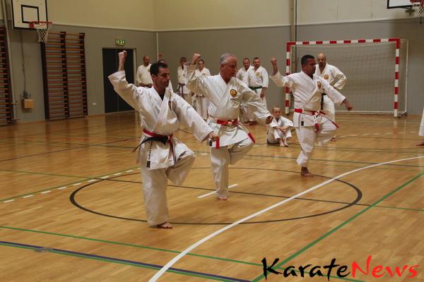 Keikokan karate kobudo ryu`s Shorin-ryu Shorinkan 2013 Gasshuku