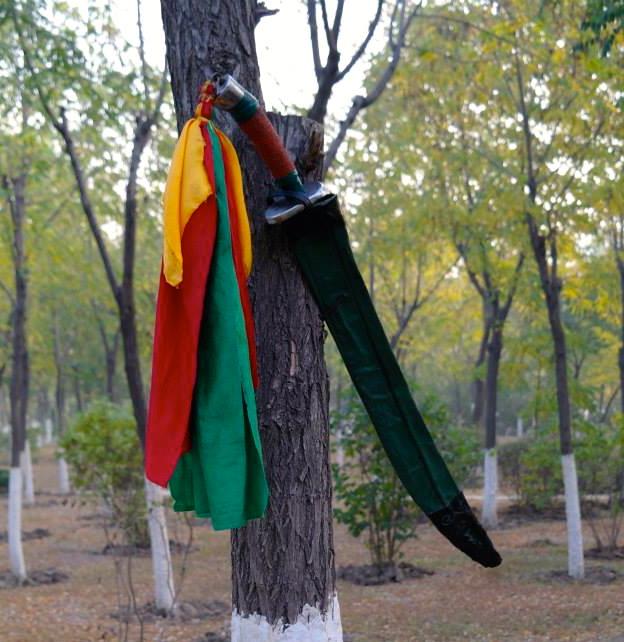 Uventet Kung Fu oplevelse i Kina