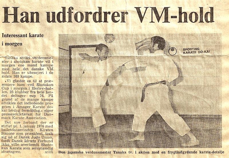 Avisudklip fra 1978
