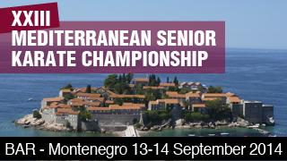 WKF – 23rd Mediterranean Senior Karate Championships