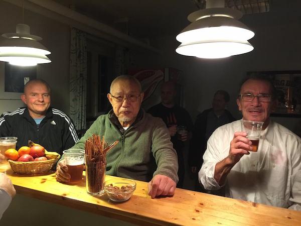Jesper F. Andersen, Tanaka sensei og Erik Holmey