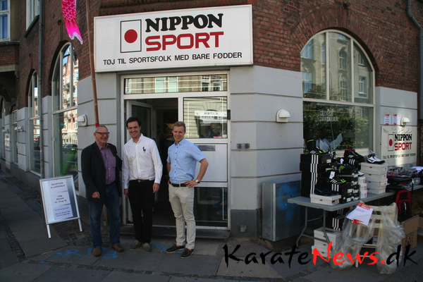 Nippon Sport inviterede til reception og lagersalg