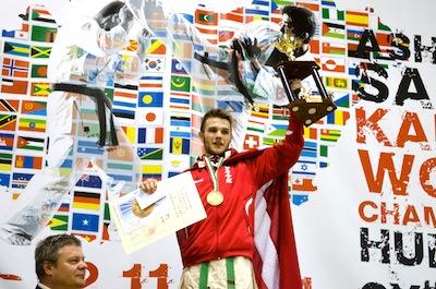Verdensmester og VM sølv til Danmark i Ashihara karate