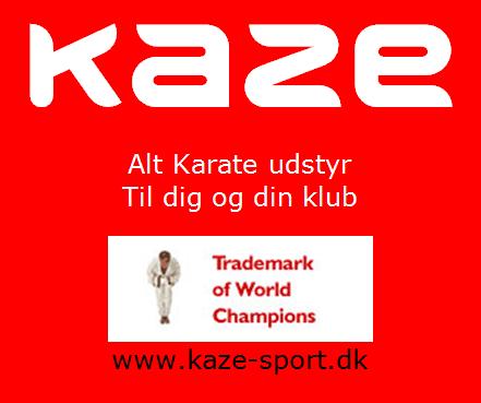 Velkommen til KAZE som ny sponsor på KarateNews