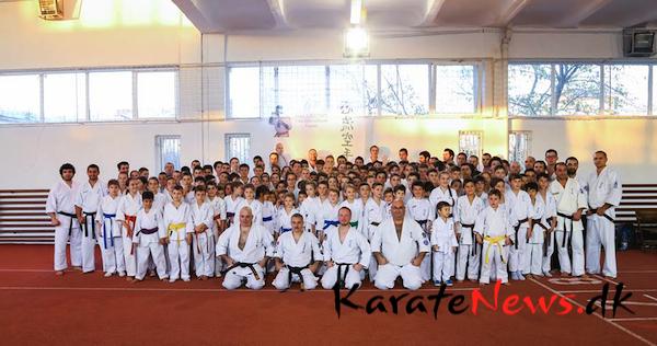 European Isshinryu Karate Gasshaku i Rumænien.