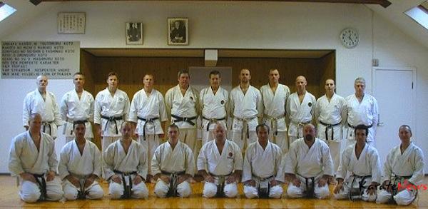 Fra Shihankai træning tilbage i 1995 på Honbo Dojo