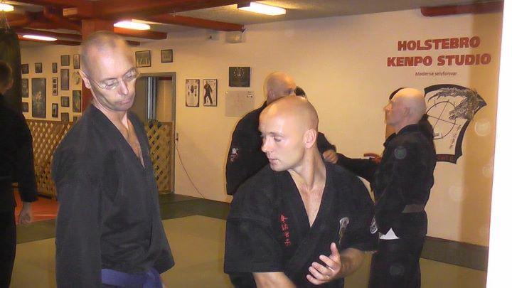 Seminar i Kenpo Karate med Richard Burgess & John Burgess, begge 6. Dan