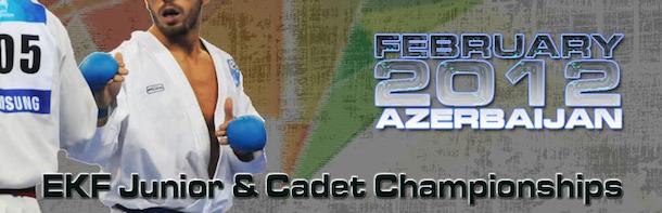 Tidsplan EM u 21 Karate Baku, Azerbaijan