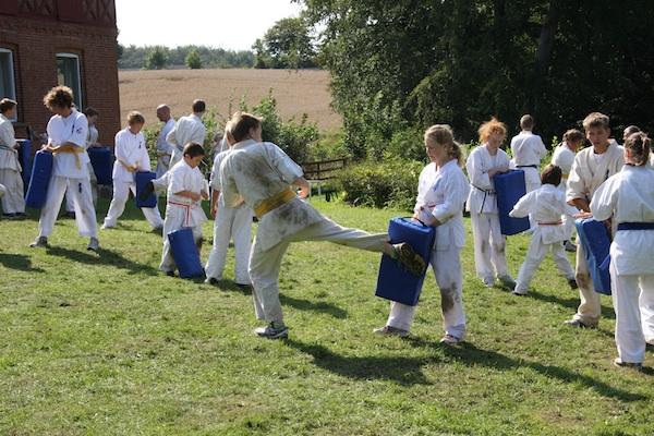 Farum Kyokushin Karate på lejr