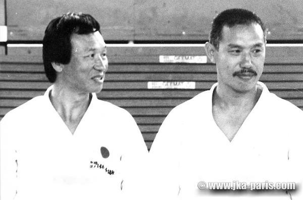 Enoeda sensei og Tanaka sensei